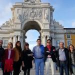 Asociados de paseo por Lisboa